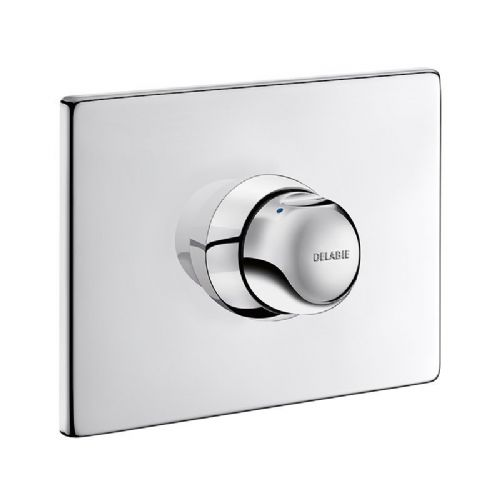 Delabie 790218 TEMPOMIX Recessed Push Time-Flow Shower Mixer